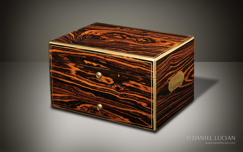 Daniel Lucian Dl068 Antique Dressing Case In
