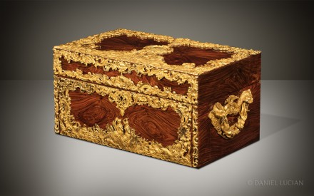 Magnificent Antique Dressing Case from Asprey, Displayed at the Great Exhibition of 1851